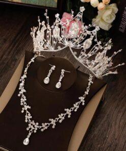 set bijuterii, set mireasa, coronita mireasa, diadema mireasa, bijuterii, bijuterii mireasa, accesorii, accesorii nunta, unique fashion,