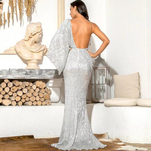 rochie, rochie lunga, rochie paiete, rochii, rochii elegante, haine, haine dama, unique fashion,