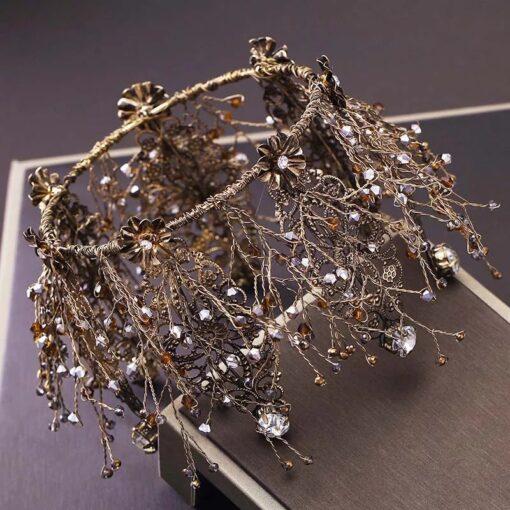 coronita mireasa, diadema, diadema cristale, coronita cristale, accesorii mireasa, bijuterii mireasa, unique fashion,