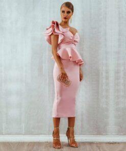 rochie, rochie midi, rochie eleganta, rochii, haine, haine dama, unique fashion,