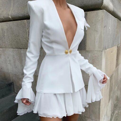 rochie, rochie scurta, rochie sacou, rochii, haine, haine dama, unique fashion,