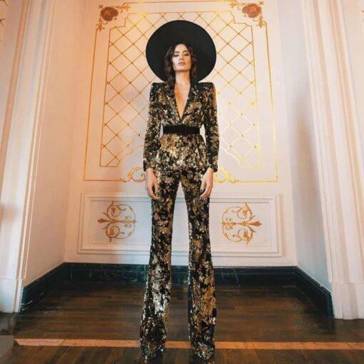 costum dama, set dama, costum paiete, costum elegant, compleu dama, costume dama, compleuri dama, haine, haine dama, unique fashion,