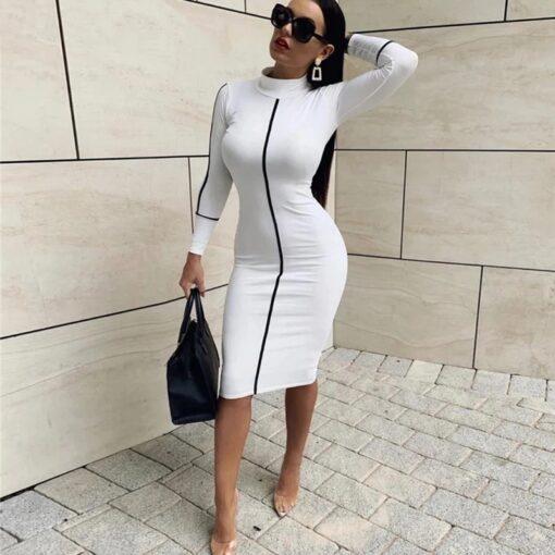 rochie, rochie midi, rochie alba, rochii, haine, haine dama, unique fashion,