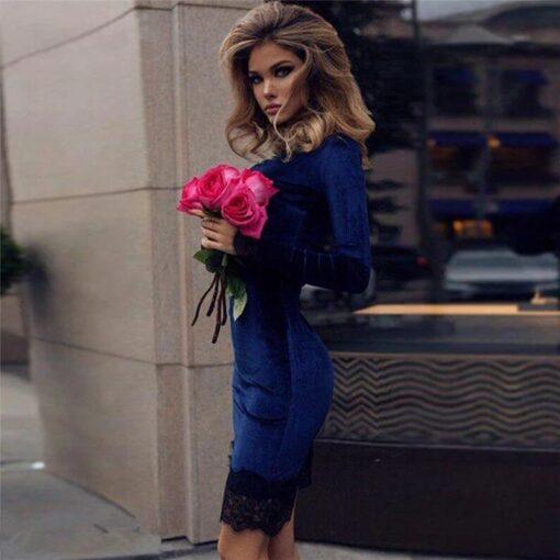 rochie, rochie midi, rochie catifea, rochii, haine, haine dama, unique fashion,