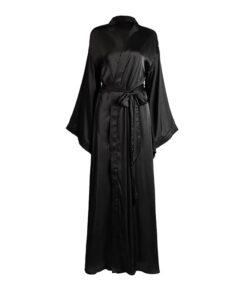 rochie, kimono, rochie plaja, rochie lunga, rochie neagra, halat dama, haine, haine dama, unique fashion,