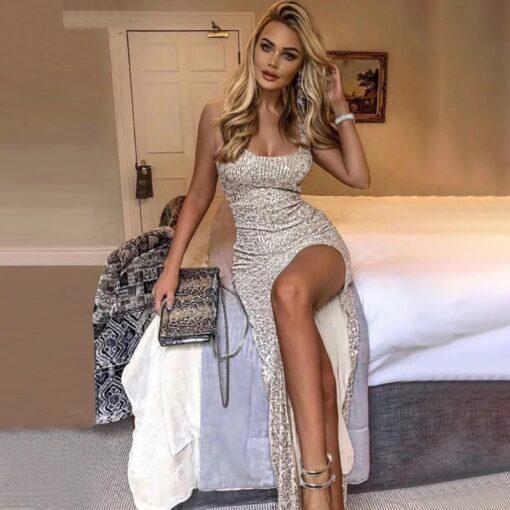 rochie, rochie lunga, rochie paiete, rochie din paiete, rochii, rochii paiete, haine, haine dama, unique fashion,