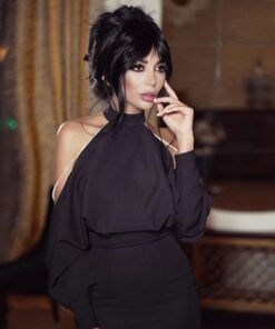rochie, rochie midi, rochie neagra, rochie eleganta, rochii, rochii de ocazie, haine, haine dama, unique fashion,