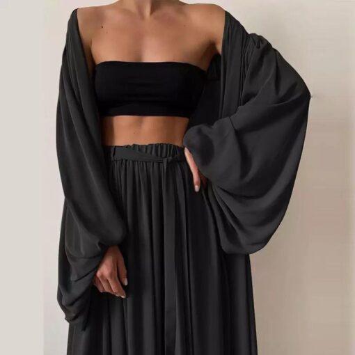 Set dama negru Comfy