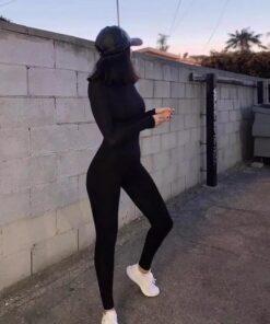 Salopeta, salopeta dama, salopeta neagra, haine dama , haine, salopete, unique fashion